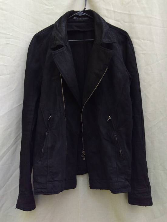 Julius Black Denim Moto Jacket f/w10 Size US L / EU 52-54 / 3 - 2