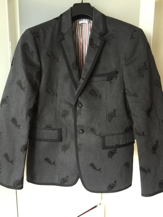 Thom Browne Whale/ Turtle Demin Blazers Size US S / EU 44-46 / 1