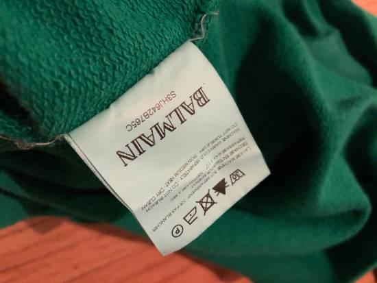 Balmain Balmain Sweatshirt Pullover Kelly Green Size US L / EU 52-54 / 3 - 3