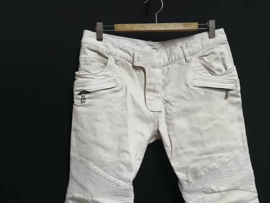 Balmain Balmain Coated biker Jeans Size US 33 - 1