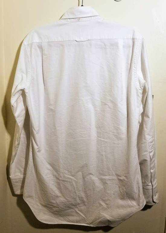 Thom Browne Classic Long Sleeve Button Down with Stripe Detail Size US M / EU 48-50 / 2 - 2