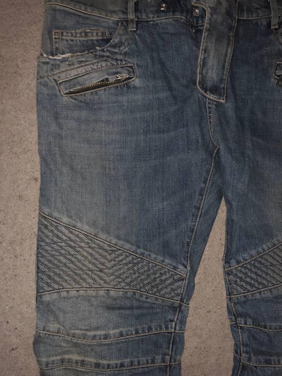 Balmain Balmain biker Jeans Size US 36 / EU 52 - 1