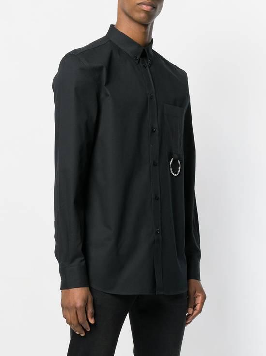 Givenchy Black Metal Ring Pocket Shirt Size US L / EU 52-54 / 3 - 2