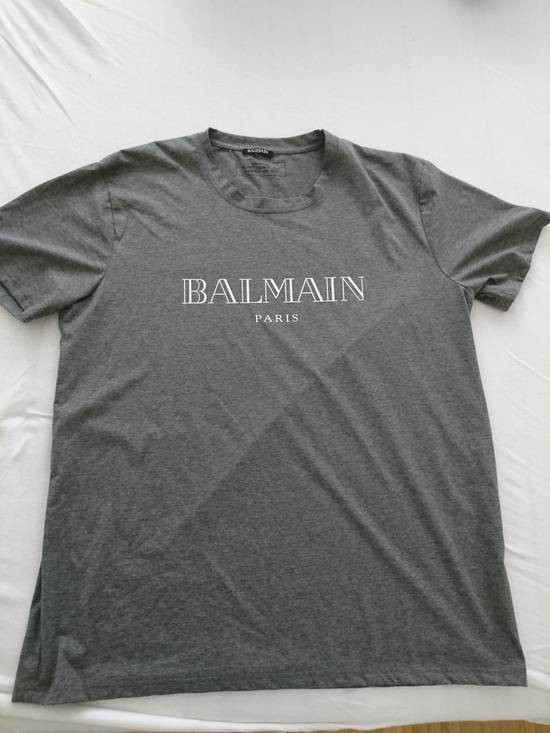 Balmain Balmain dark grey summer 2017 drop Size US XL / EU 56 / 4 - 1