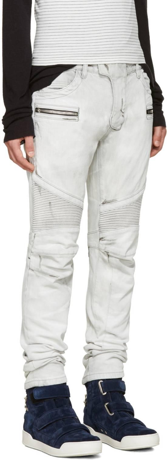 Balmain NWT, THE BEST! Biker Jeans (WAS $1650) - RUNS SMALLER Size US 36 / EU 52 - 2