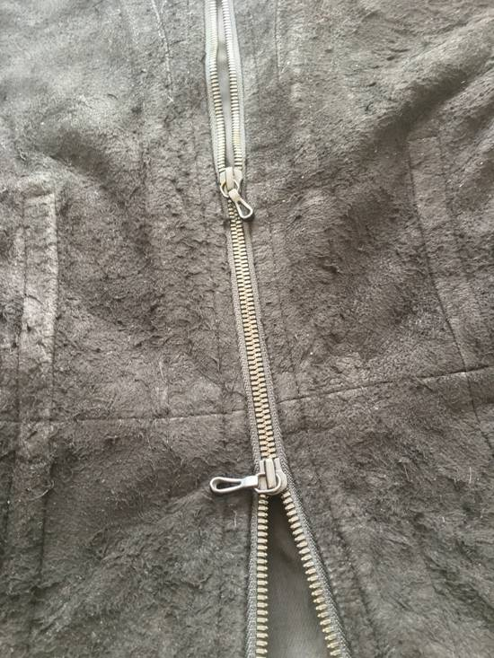 Julius $2200 Lamb Leather Blistered And Reversed Moto Jacket Made In Japan In Mint Condition Size US M / EU 48-50 / 2 - 9