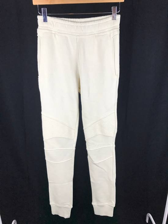 Balmain Creme Sweatpants Size US 29