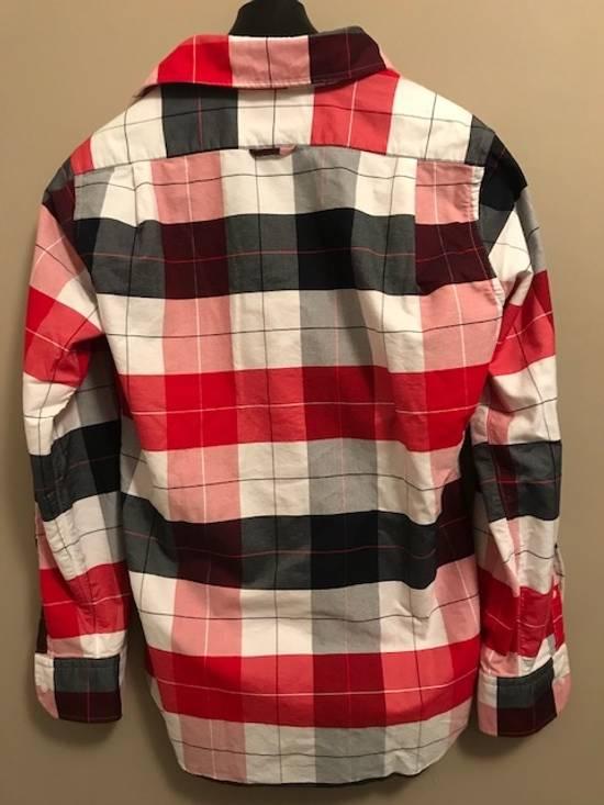 Thom Browne Buffalo-Checked Men's Oxford Shirt NEW Size US L / EU 52-54 / 3 - 5