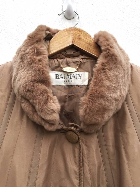 Balmain Balmain Paris Authentic Silk Fur Oversized Long Jacket Size US L / EU 52-54 / 3 - 3