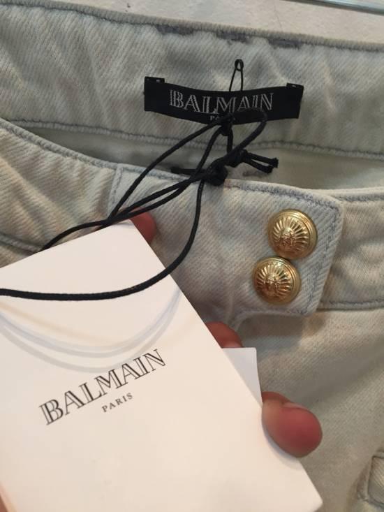 Balmain Women's Balmain Spring/Summer 2015 Biker Jeans Size US 36 / EU 52 - 2