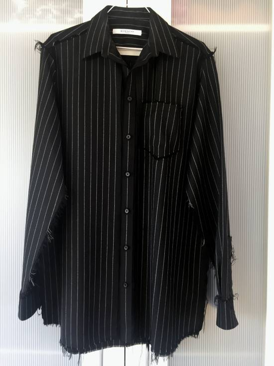 Givenchy Pinstripe used look Shirt by Riccardo Tisci Size US S / EU 44-46 / 1 - 10