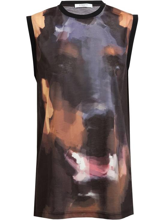 Givenchy Givenchy Abstract Doberman Print Rottweiler Bambi Star Tank Top Vest size L (M) Size US M / EU 48-50 / 2 - 1