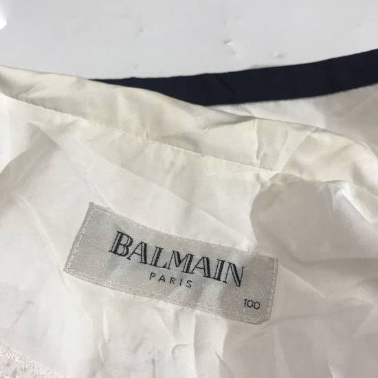 Balmain Vtg Balmain Spell Out Huge Light Jacket Not Dior Gucci Hermes Louis Vuitton Fendi Hermes Prada Size US L / EU 52-54 / 3 - 5