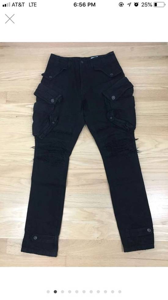 Julius AW12 Resonance; Gas Mask Cargo Pants (FINAL DROP) Size US 32 / EU 48 - 1