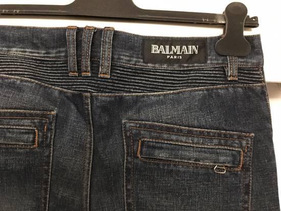 Balmain Biker Jeans Size31 Size US 31 - 5