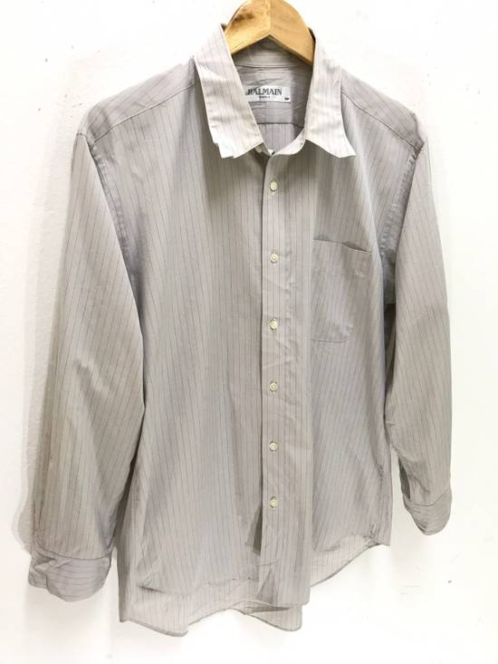 Balmain Balmain Paris Made in Japan Striped Shirt Button Up Size US M / EU 48-50 / 2 - 1