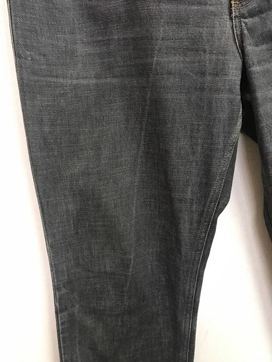 Givenchy Luxury Designer GIVENCHY PARIS Made in Tunisia Front Button Denim Jeans Size US 34 / EU 50 - 5