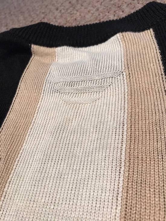 Balmain Union Jack Sweater beige/blk Size US XL / EU 56 / 4 - 11
