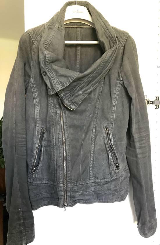 Julius Waxed distressed denim jacket Size US S / EU 44-46 / 1