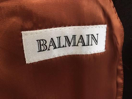 Balmain Black Coat Size US M / EU 48-50 / 2 - 3
