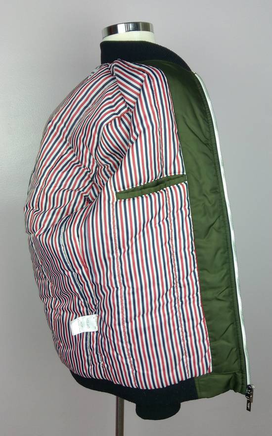 Thom Browne Bomber Jacket With Leather Dog Patch 3 / 42 / L MINT Size US L / EU 52-54 / 3 - 8