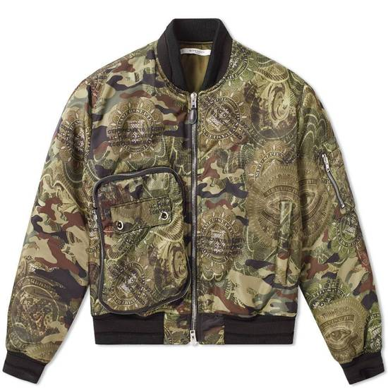 Givenchy 2995$ American Dollar Camouflage Bomber Jacket Size US S / EU 44-46 / 1 - 12