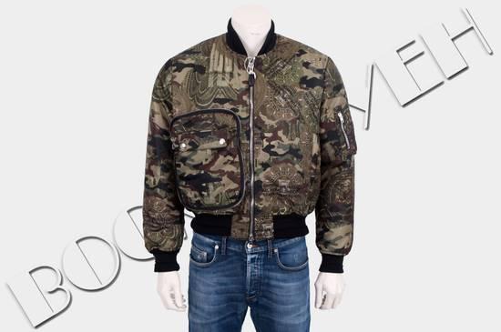 Givenchy 2995$ American Dollar Camouflage Bomber Jacket Size US S / EU 44-46 / 1 - 1