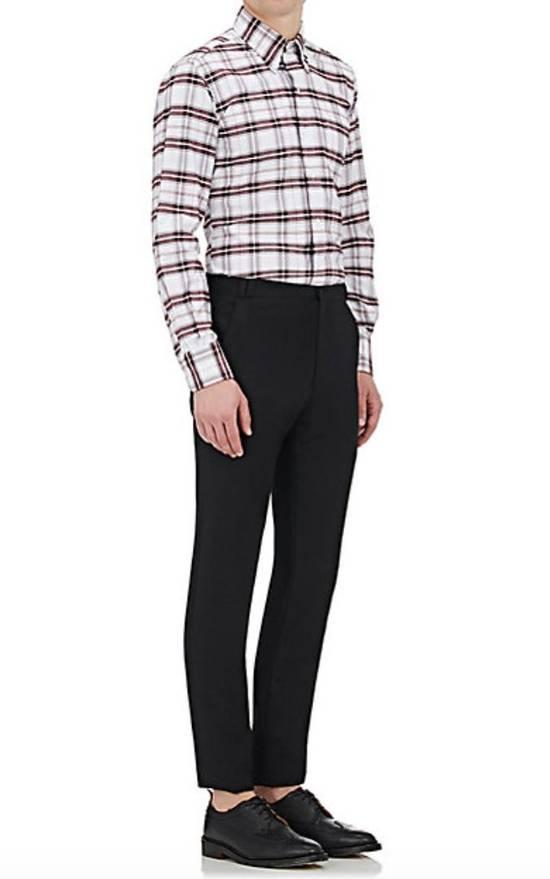 Thom Browne Plaid Oxford Cloth Shirt with Grosgrain Tab NEW Size US S / EU 44-46 / 1 - 3