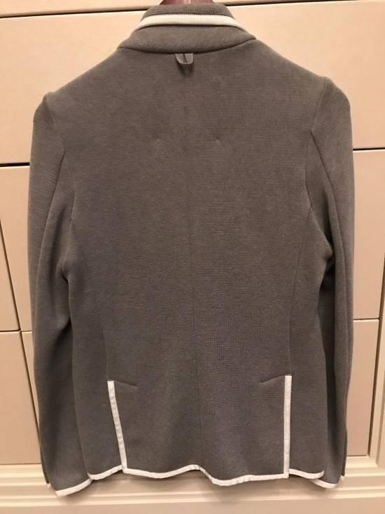 Thom Browne Black Fleece Cotton Blazer Size 34S - 4