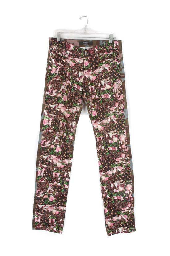 Givenchy Givenchy Multi-Color Floral Jeans Size US 31