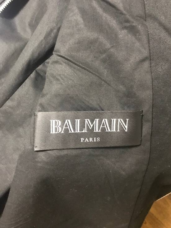 Balmain waxed biker jacket Size US M / EU 48-50 / 2 - 6
