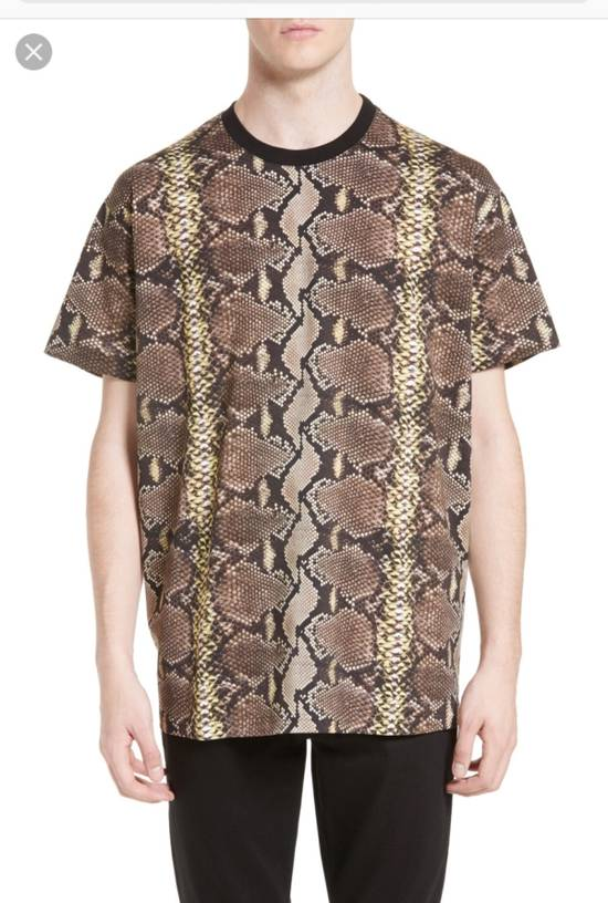 Givenchy Snakeskin Print Cotton T-Shirt Size US XL / EU 56 / 4 - 5