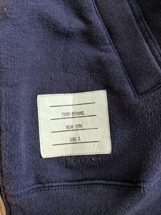 Thom Browne Navy Zip Hoodie Size US XS / EU 42 / 0 - 3