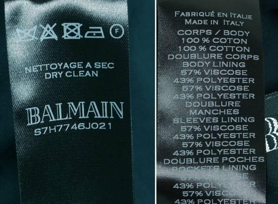 Balmain Original Balmain Dark Blue Men Blazer Jacket in size 54 Size 44R - 7