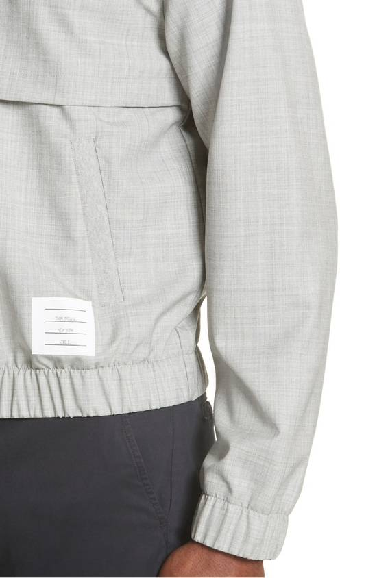 Thom Browne Lightweight Wool Bomber Jacket NEW Size US XL / EU 56 / 4 - 3