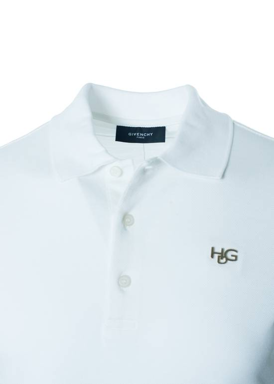 Givenchy Givenchy Men's Solid White Short Sleeve Polo Shirt Size US S / EU 44-46 / 1 - 1