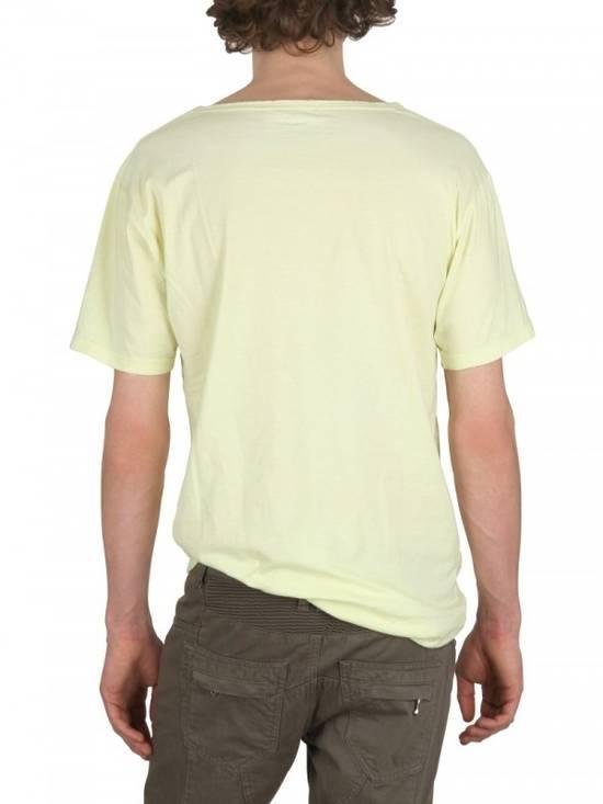 Balmain Yellow Distressed T-shirt Size US M / EU 48-50 / 2 - 2