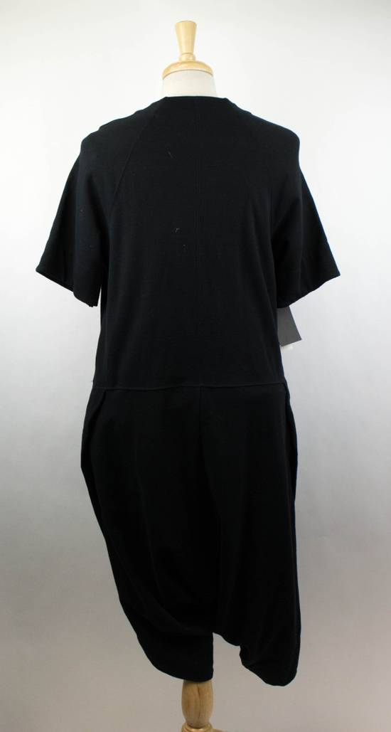 Julius Men's Black Cotton Blend Drop Crotch Jumpsuit Size 0/2XS Size US 30 / EU 46 - 3