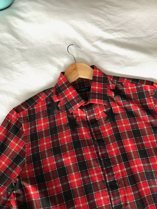 Givenchy Red Check Star shirt Size US S / EU 44-46 / 1 - 7