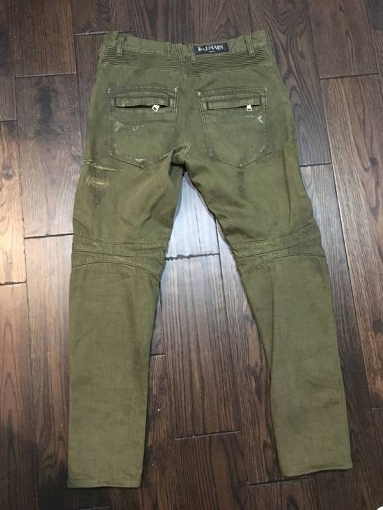 Balmain Balmain Distressed Biker Jeans Size US 32 / EU 48 - 1