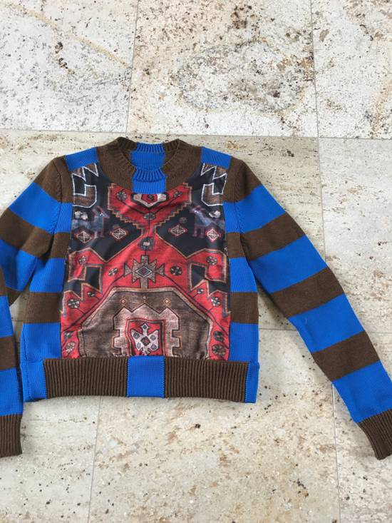 Givenchy Runway Printed Knit Sweater Size US XS / EU 42 / 0 - 9