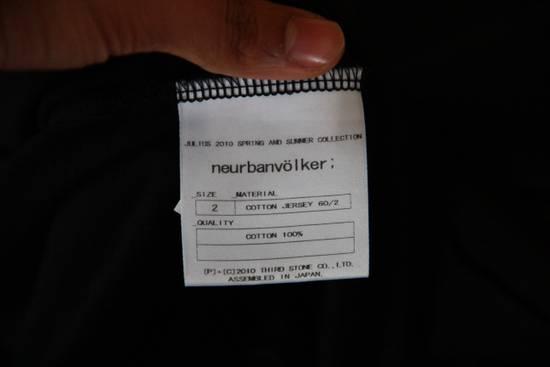 Julius Triple zipper black hoody Size US M / EU 48-50 / 2 - 5