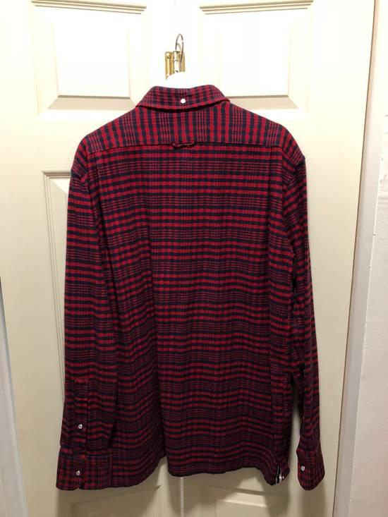 Thom Browne Thom Browne Flannel Shirt Jacket - TB 5 - Kanye Size US XL / EU 56 / 4 - 7