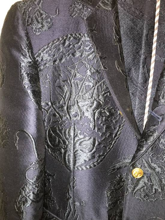 Thom Browne Ss14 Anchor Jacquard Blazer Size US XS / EU 42 / 0 - 2
