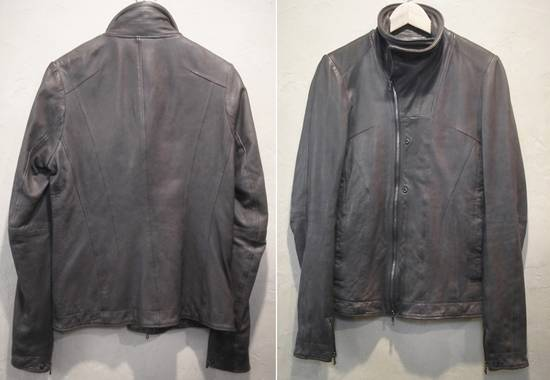Julius SS12 Grey Leather Jacket Size US S / EU 44-46 / 1 - 5