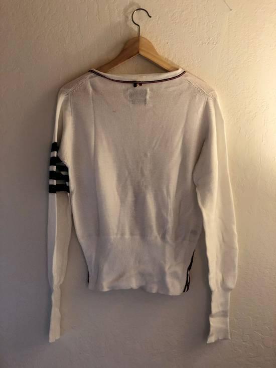 Thom Browne Thom Browne White Knit Cardigan Size US S / EU 44-46 / 1 - 1