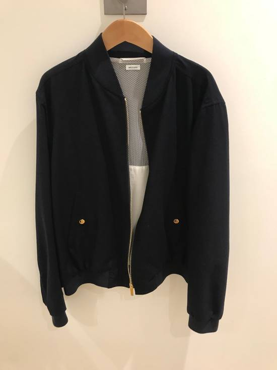 Thom Browne Light Weight Cashmere Storm Flap Bomber Jacket Size US L / EU 52-54 / 3