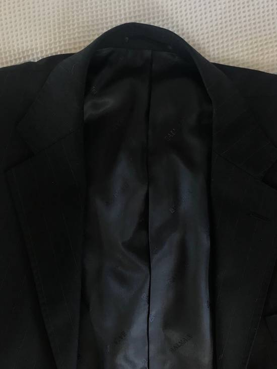 Balmain TESSUTO PINSTRIPED BLAZER Size 50R - 9