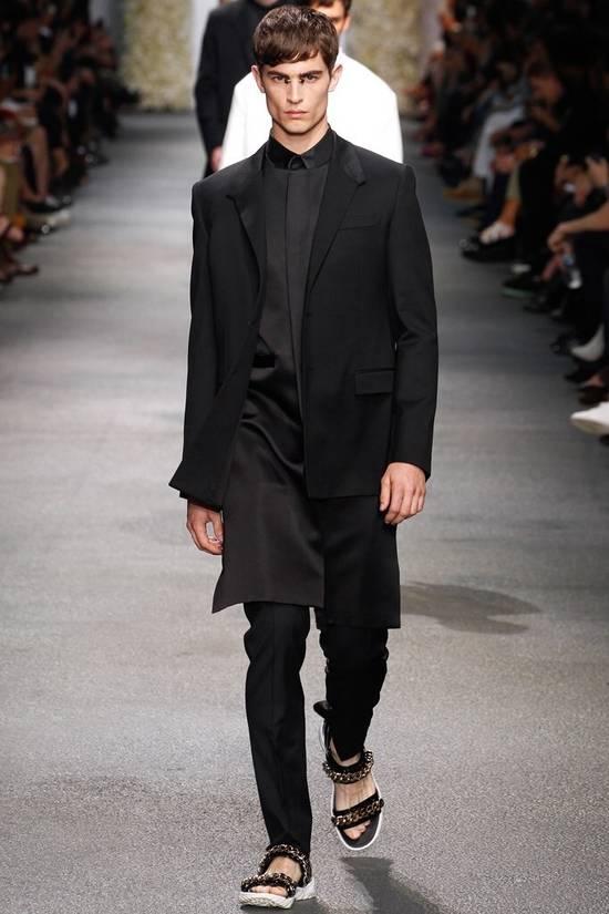 Givenchy SS13 BLACK COLLAR DETAILED SHIRT Size US XS / EU 42 / 0 - 2