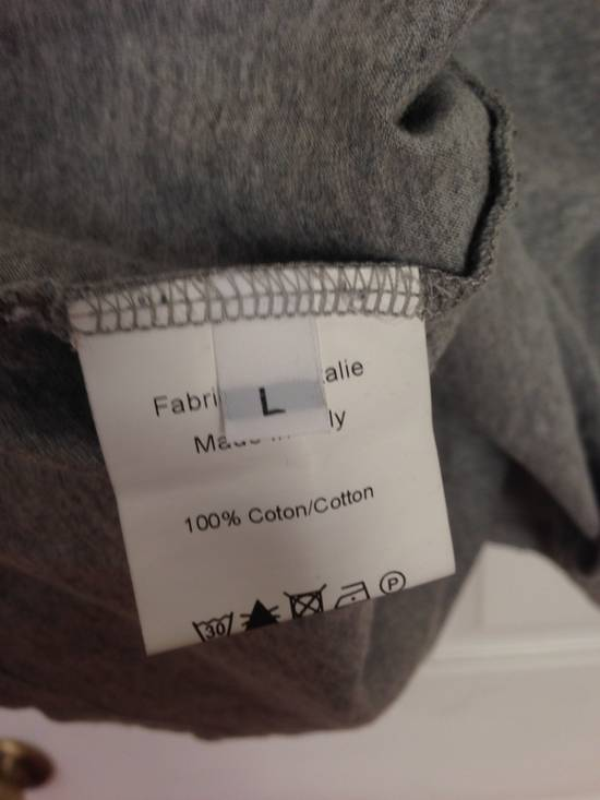 Balmain Decarnin Distressed Grey Basic T Shirt FINAL BUMP STEAL! Size US L / EU 52-54 / 3 - 2